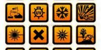 What is Hazard Symbol?