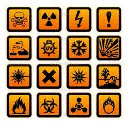 What is Hazard Symbol?
