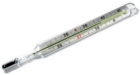 Describe clinical thermometer
