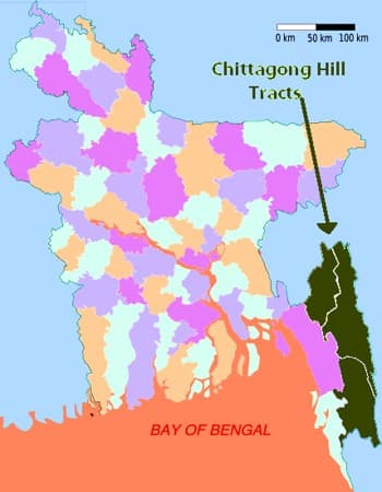 Tertiary Hilly Region in Bangladesh 1