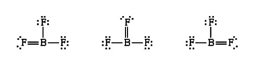 Incomplete Octet In Boron Trifluoride  Bf3  Molecule