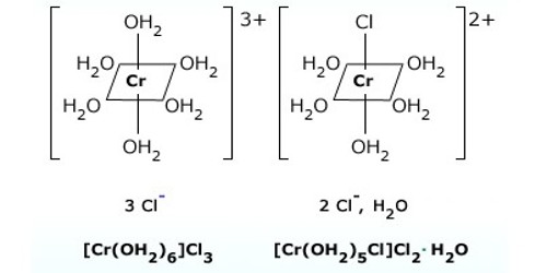 Explain on Hydrate Isomerism or Solvate Isomerism