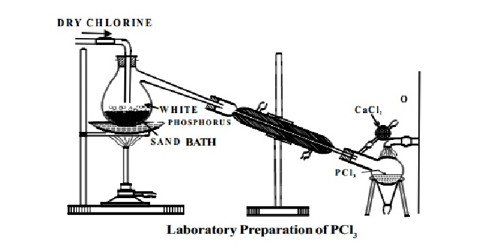 Laboratory Preparation of Phosphorus Trichloride