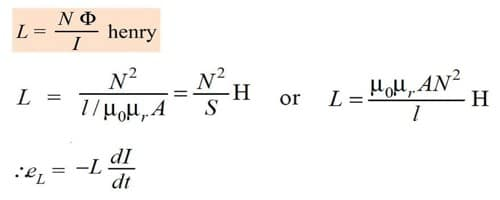 Coefficient of Self Induction 1