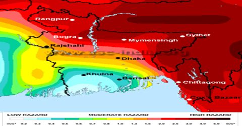 Earthquake and Bangladesh