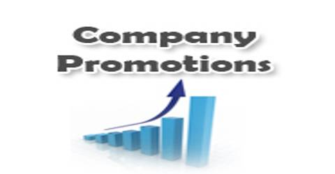 Promotion of Company