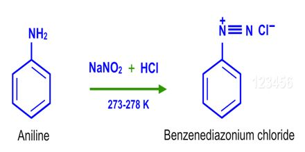 Physical Properties of Benzene Diazonium Chloride