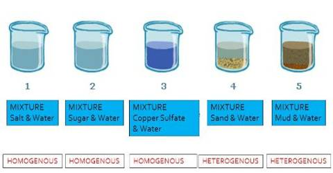 Homogeneous Mixture: Experiment