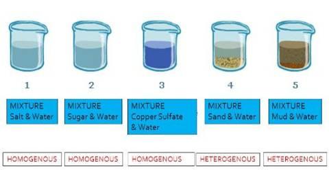 Homogeneous Mixture: Experiment