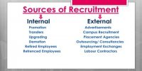 Sources of Recruitment in Business Management