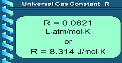 Significance Of Universal Gas Constant R Qs Study