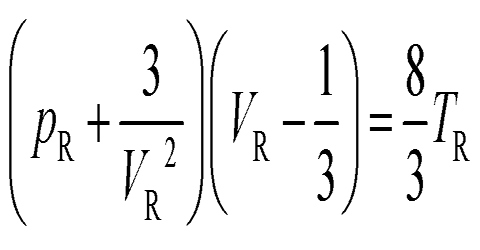 Equation of the Corresponding States