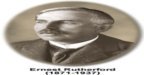 Contribution of Lord Rutherford in Modern Science
