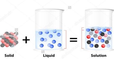 Solution Definition Comparing with Concentration of Cell Sap