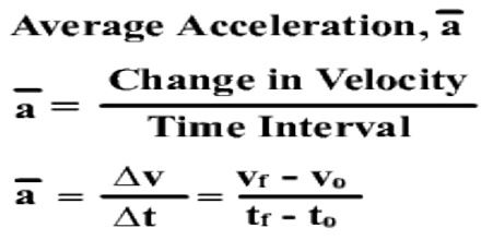 Calculate The Magnitude Of The Car S Average Acceleration
