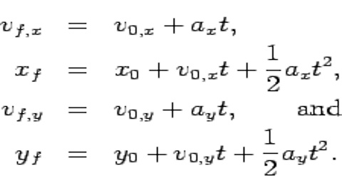 First Equation of Dimensional Motion