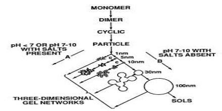 Sol-Gel Method for Preparation of Crystal