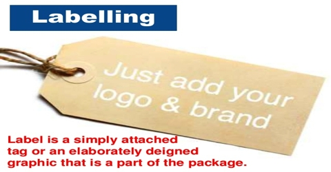 Significance of labels for Grading of Products