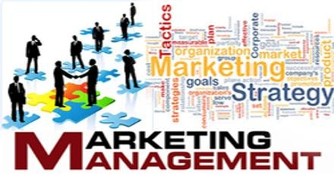 Managerial Procedures for Marketing Involves