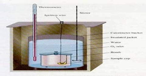 Enthalpy of Combustion: Bomb Calorimeter