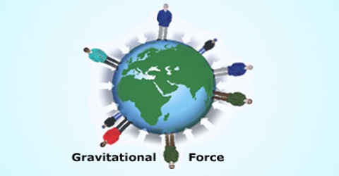 Idea of Force: Gravitational and Gravity Force