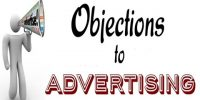 Objections to Advertising