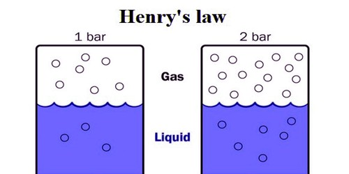 Henry's law 1