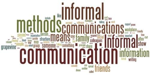 Usefulness and Importance of Informal Communication
