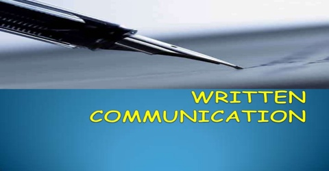 Principle Media of Written Communication: Letter, Memo and Report