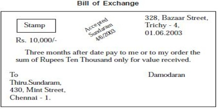 Bill of exchange qs study some bills of exchange may say that the money is due on a preset future date or they may state that payment is due on demand altavistaventures Choice Image