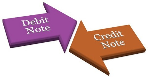 Debit Note definition in terms of Recording of Transactions