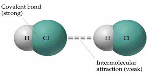 Intermolecular Force in State of Matter