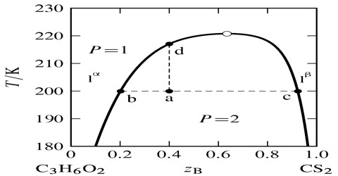 Liquid-Liquid Equilibria in Partially- Miscible Systems