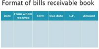 Bills Receivable Book