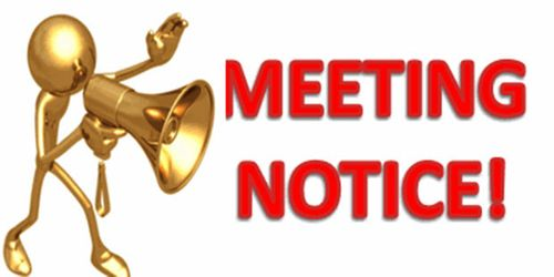 Meaning of Notice of Meeting