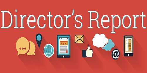 Contents of Directors' Report