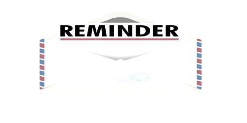 Reminder Letter