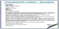 Factors to be considered while Drafting Complaint Letter
