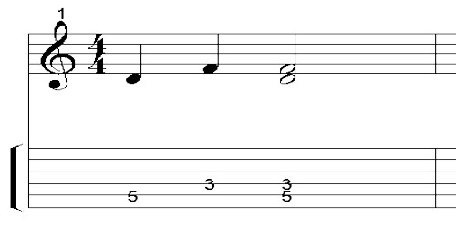 Musical Interval or Musical Proportion
