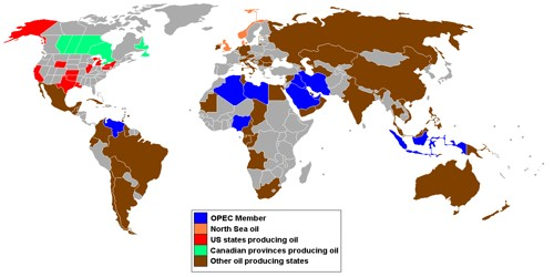 Functions of Organization of petroleum Exporting countries (OPEC)