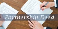 Elements of Partnership Deed