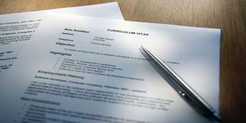 Meaning Of Resume Or Curriculum Vitae Qs Study