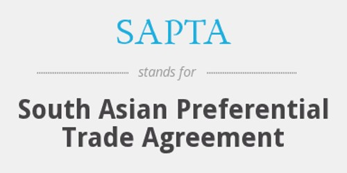 Objectives of South Asian Preferential Trade Agreement (SAPTA)