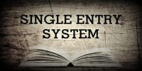 Single Entry System