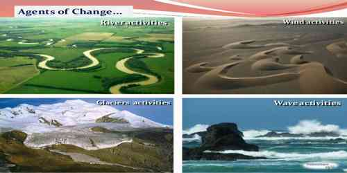 Is it essential to distinguish Geomorphic Agents and Geomorphic Processes?