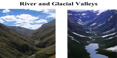 Glacial Valleys or Troughs: Erosional Landforms