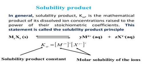 solubility product constant of an organic salt Solubility product constant of an organic salt note : the solubility of potassium  hydrogen tartrate (kht, 18818g/mol) is 10g/162ml at 25c and 1g/16ml at.