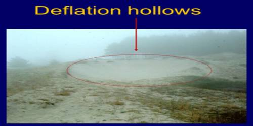 Deflation Hollows: Erosional Landforms