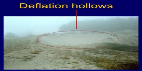 Deflation Hollows: Erosional Landforms