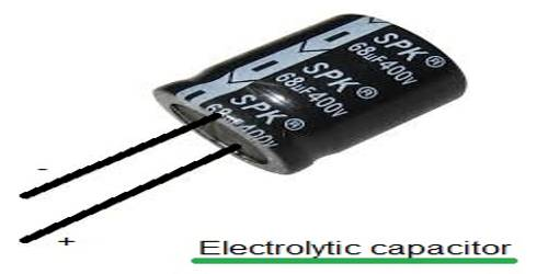 Electrolytic Condenser or Capacitors